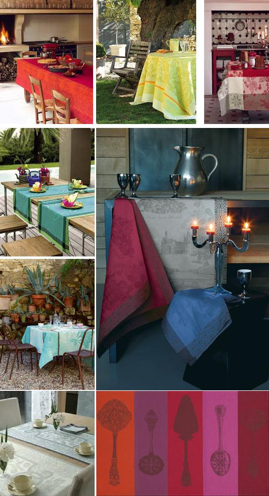 Le Jacquard tablecloth